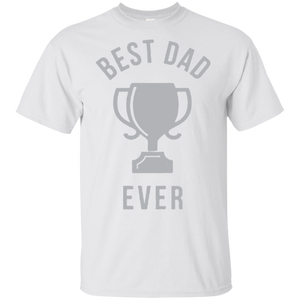 Father's Day Gift - Best Dad Ever Trophy - Mens T Shirt
