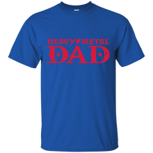 Load image into Gallery viewer, Father's Day Gift - Heavy Metal DAD - Mens T Shirt