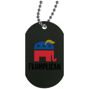 Trumplican Dog Tag Necklace
