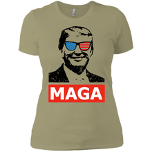 Load image into Gallery viewer, Trump MAGA Women Boyfriend T-Shirt