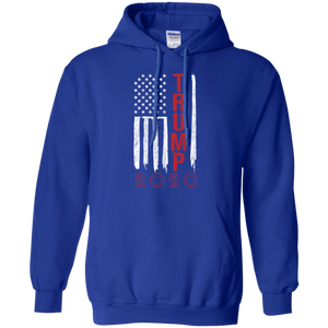 Trump 2020 Hoodie - USA Flag Jacket