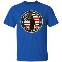 Load image into Gallery viewer, Proud To Be A Veteran Apparel