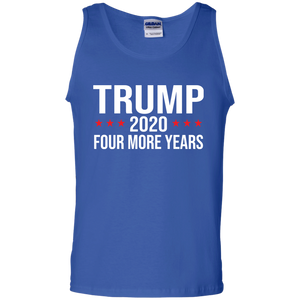 Trump 4 More Years 2020 Hoodie/Tank Top Mens