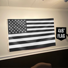 Load image into Gallery viewer, United States of America - American Flag - Black & White