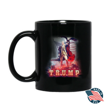 Load image into Gallery viewer, Trump 2020 Keeping America Great Star Spangled Flag - Mug