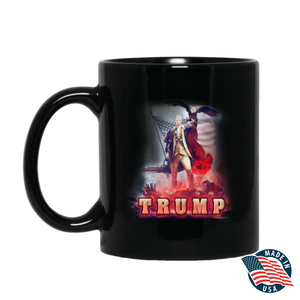 Trump 2020 Keeping America Great Star Spangled Flag - Mug