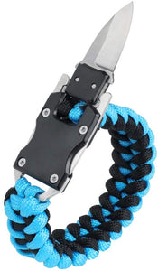 5 in 1 Outdoor Camping Adjustable Paracord Survival Bracelet for Outdoor