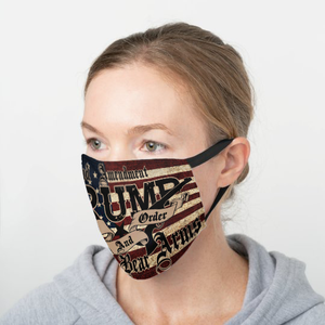 Trump Law and Order Cotton Face Mask