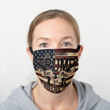 Load image into Gallery viewer, Trump Law and Order Cotton Face Mask
