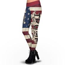 Load image into Gallery viewer, Pre-Release Limited Edition Trump 2020 LNO - Sublimation Leggings