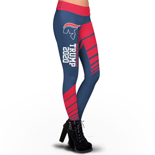 Pre-Release Limited Edition KAG Trump 2020 USA Colorway - Sublimation Leggings