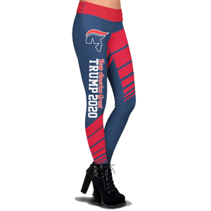 Pre-Release Limited Edition Trump 2020 KAG - Leggings - USA Colorway