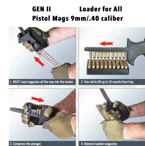 Tactical Universal Speed Loader for Rifle Magazine
