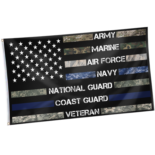 Military Force Personnel AMANNCV Appreciation Flag