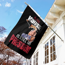 Load image into Gallery viewer, In This House, 45th is Still My President Flag - Michigan