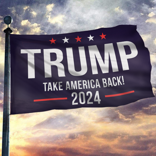 Take America Back 2024 Flag