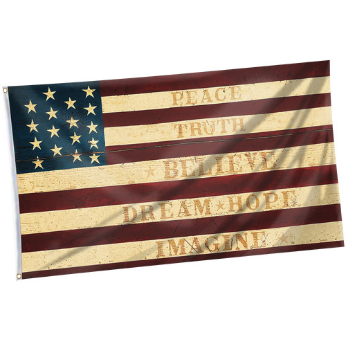 USA Inspirational Flag