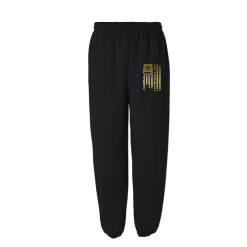 United States Army Veteran Gold Sweatpants