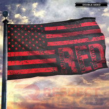 Load image into Gallery viewer, Remember Everyone Deployed American Flag