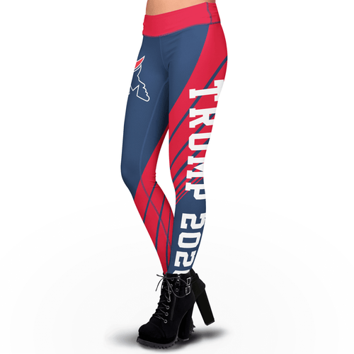 Pre-Release Limited Edition Trump 2020 Sublimation Leggings - USA Colorway