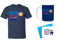 Load image into Gallery viewer, Father's Day Gift - You are the Best Dad Shirt, Mug, w/ Father's Day Card Bundle