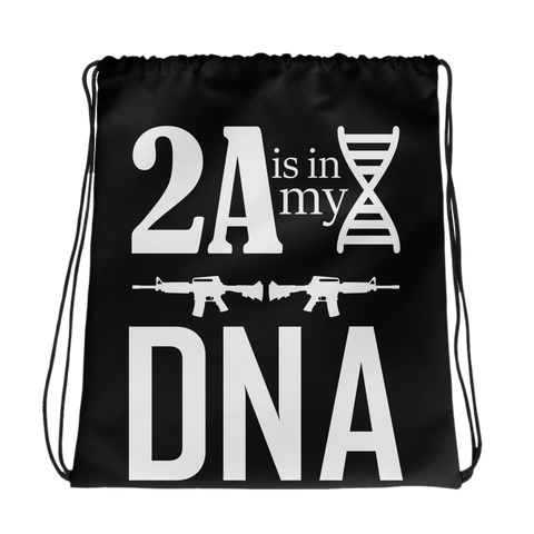 Drawstring Bag 2A is my DNA