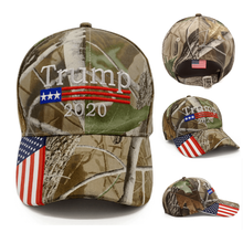 Load image into Gallery viewer, Trump 2020 Cap Camouflage Baseball Caps Army Cap, Trump HAT