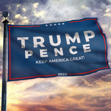 Load image into Gallery viewer, Trump Pence Keep America Great Flag