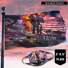 Load image into Gallery viewer, Donald Trump Rare Tank Flag (NEW BUNDLE)