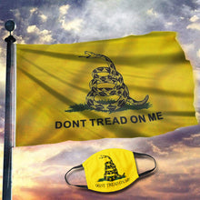 Load image into Gallery viewer, Gadsden Flag - DONT TREAD ON ME Flag (NEW BUNDLE)