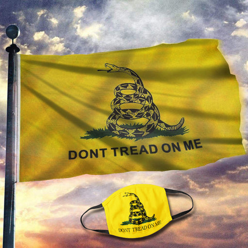 Gadsden Flag - DONT TREAD ON ME Flag (NEW BUNDLE)