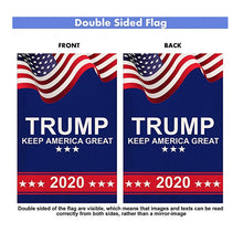 Load image into Gallery viewer, Trump Flags - Trump 2020 Banner - Trump 2020 Yard Flag