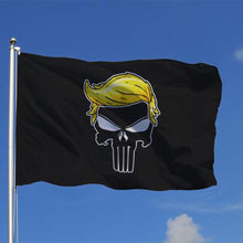 Load image into Gallery viewer, Trump Punisher Flag
