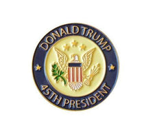 Load image into Gallery viewer, Trump 2020 Camo Hat w/ Trump 45th President Pin and Keep America great Flag