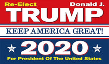 Load image into Gallery viewer, Trump Flags - Trump 2020 Flag - Trump 2020 Rally Flag Bundle Up To 30% OFF