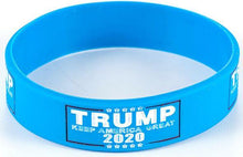 Load image into Gallery viewer, Trump 2020 Flag Bill USA Flag Hat and Trump Rally Bracelet + Free Trump Rally Flag Combo Deal
