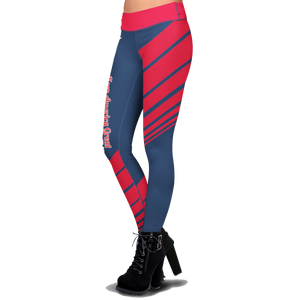 Pre-Release Limited Edition Trump 2020 KAG - Leggings - USA Colorway + American Flag Lapel Pin