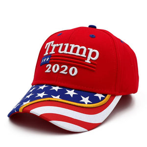 Pre-Release Limited Edition Trump 2020 KAG - Leggings - USA Colorway + Trump 2020 Red Flag Bill Hat