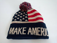 Load image into Gallery viewer, Trump MAGA 2020 - Make America Great Again - Winter Hat Beanie