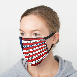 This Well Defend 2nd Amendment Vintage American Flag - Cotton Face Cover