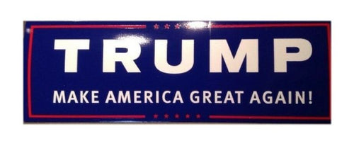 Trump Sticker - Make America Great Again - Trump Bumper Sticker
