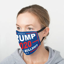 Load image into Gallery viewer, Limited Edition Trump Flags - No More Bull***t 2020 Flag Face Cover