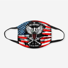 Load image into Gallery viewer, It's My Gun Permit - 2nd Amendment Flag Face Cover