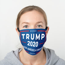 Load image into Gallery viewer, Trump 2020 Keep America Great Face Cover