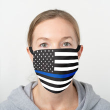 Load image into Gallery viewer, Thin Blue Line Face Cover