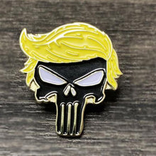 Load image into Gallery viewer, 5pc Trump Pins Combo Deal - Trump Punisher Trump American Flag 45th President I Love Trump & Trump 2020 Pins