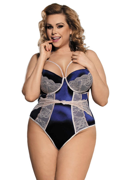 Sarah Bodysuit, Bras By S, women's plus size lingerie