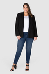 Lottie Slim Stretch Jean - Dark Indigo, Love Your Wardrobe, women's plus size jeans