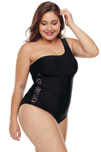 Ray One Piece Swimwear, Bras By S, women's plus size swimwear