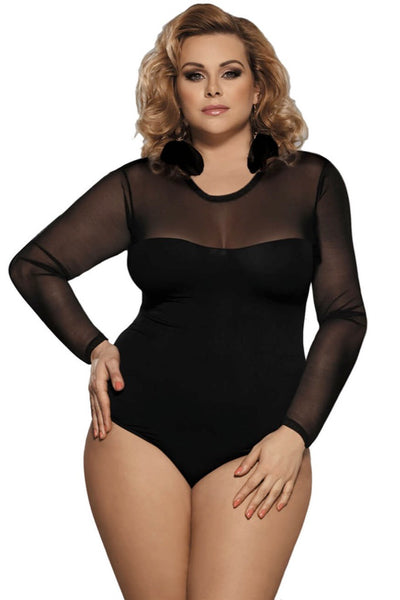 Paris Bodysuit, Bras By S, women's plus size lingerie